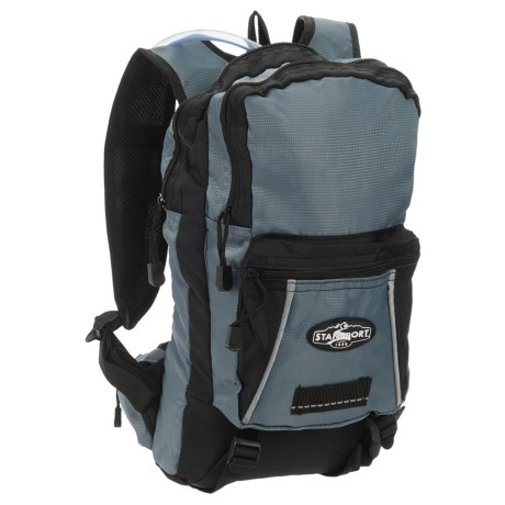 Stansport Red Wall 8L Hydration Backpack - 70 oz.