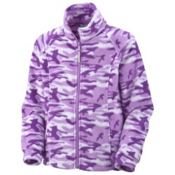 Columbia Sportswear Benton Springs Printed Fleece Jacket (For Youth Girls)