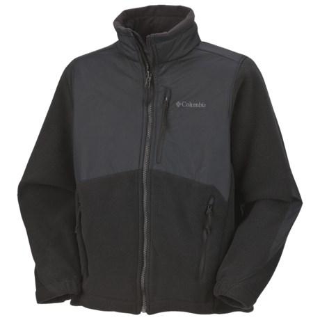 Columbia Sportswear Ballistic Jacket - Fleece (For Youth Boys)