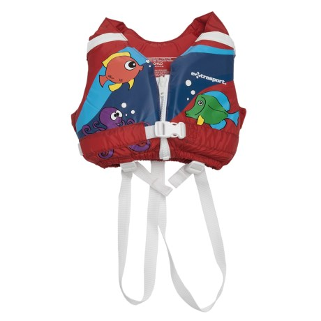 Extrasport Volks PFD Life Jacket - USCG Approved, Type III (For Kids)