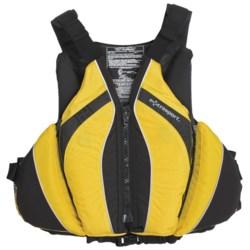 Extrasport Baja PFD Life Jacket - USCG Approved, Type III, PVC-Free (For Men)
