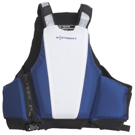 Extrasport Genoa PFD Life Jacket - USCG Approved, Type III (For Men and Women)