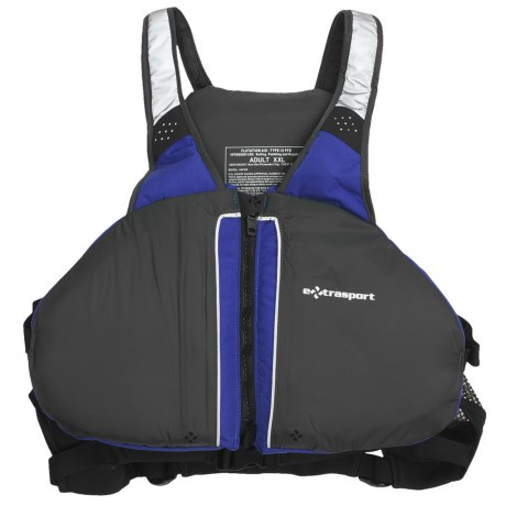 Extrasport Ebb PFD Life Jacket - USCG Approved, Type III (For Men and Women)