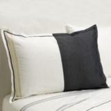 Designers Guild Baratti Standard Pillow Sham - 200 TC Cotton Percale