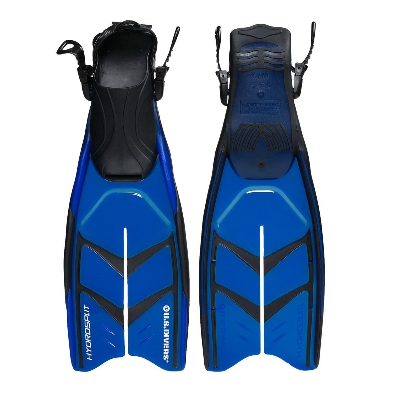 U.S. Divers Hydrosplit II Dive Fins 4205G - Save 44%