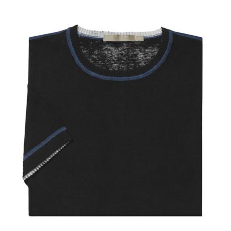 Raffi Reversible Cotton-Silk Shirt - Short Sleeve (For Men)