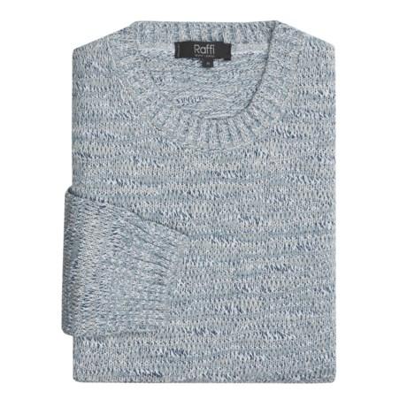 Raffi Cotton-Blend Sweater (For Men)