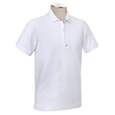 Callaway Chev Jacquard Polo Shirt - UPF 15+, Short Sleeve (For Men)