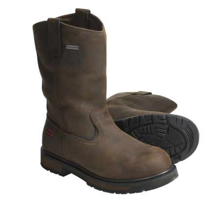 Kodiak Denton Work Boots - Steel Toe, Waterproof, Crazy Horse Leather (For Men)