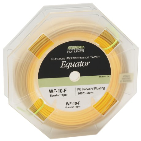 Sage Ultimate Performance Equator Taper Fishing Fly Line - 100', Weight Forward