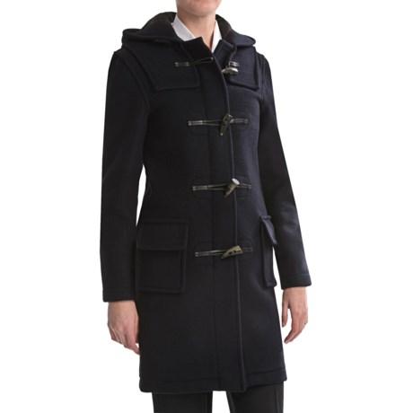 Montgomery by John Partridge Classic Duffle Coat - Wool (For Tall Women)