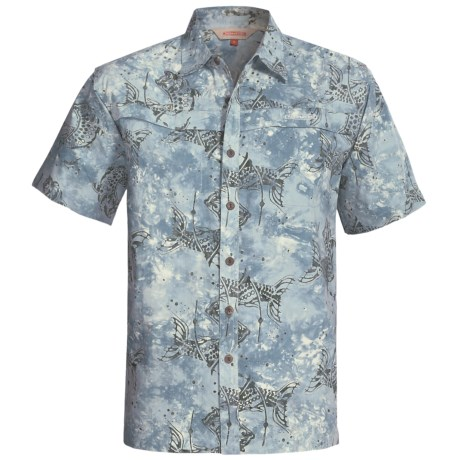 Redington Tarpon Batik Shirt - Short Sleeve (For Men)