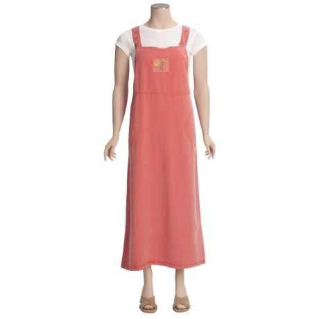 Embroidered TENCEL® Jumper - Sleeveless (For Women)