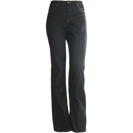 Ethyl Denim Jeans - Bootcut (For Plus Size Women)