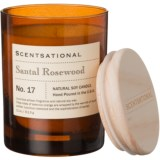 Scentsational Sandal Rosewood Apothecary No. 17 Soy Candle - 11 oz.