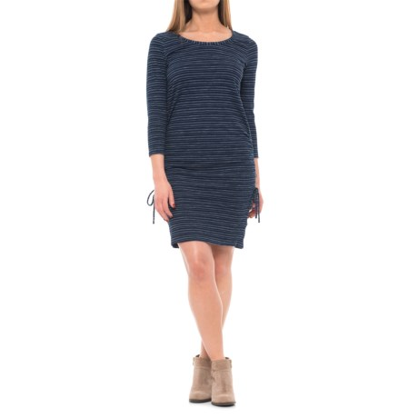 Jane and Delancey Side-Tie Stripe Dress - Long Sleeve (For Women)