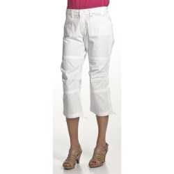 Zenim Ripstop Cotton Capris (For Women)