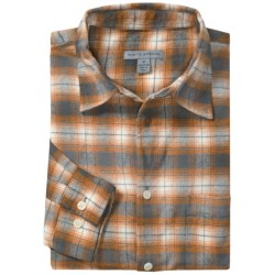 Martin Gordon Flannel Plaid Sport Shirt - Long Sleeve (For Men)