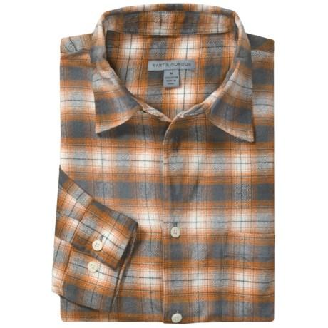 Martin Gordon Flannel Plaid Sport Shirt - Long Sleeve (For Men)