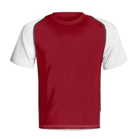 Saucony Vortex II Shirt - Recycled Materials, UPF 50+, Short Sleeve (For Men)