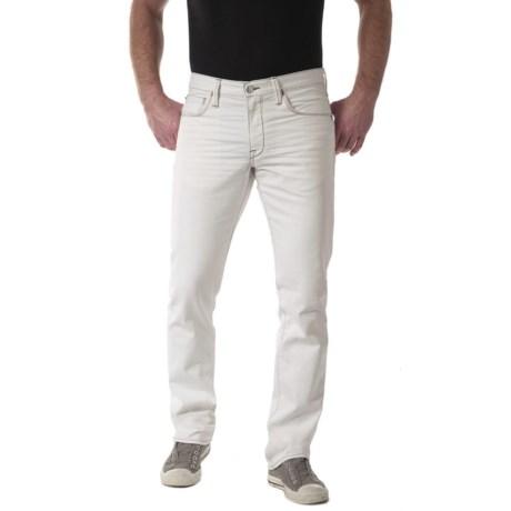 Agave Denim Pragmatist White Vintage Flex Jeans (For Men)