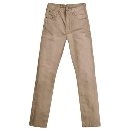 Agave Denim Pragmatist Sand N Sea Jeans - Cotton-Linen, Classic Fit (For Men)