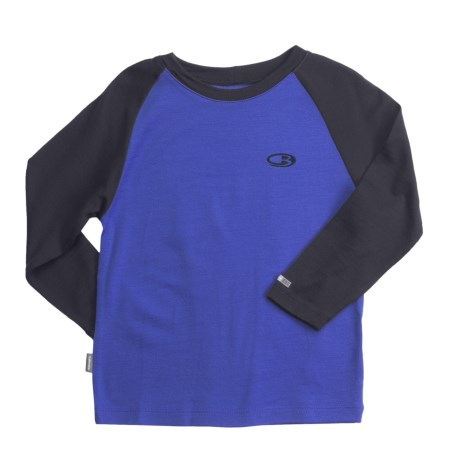 Icebreaker Junior Bodyfit 260 Base Layer Top - Merino Wool, Long Sleeve (For Toddlers)