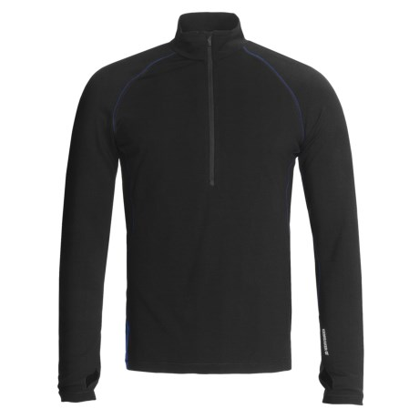 Icebreaker GT260 Pursuit Base Layer Top - Merino Wool, Zip Neck, Long Sleeve (For Men)