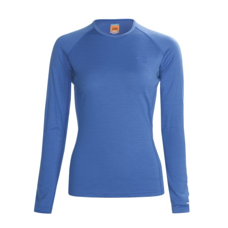 Icebreaker Bodyfit 200 Oasis Base Layer Top - Merino Wool, Long Sleeve (For Women)