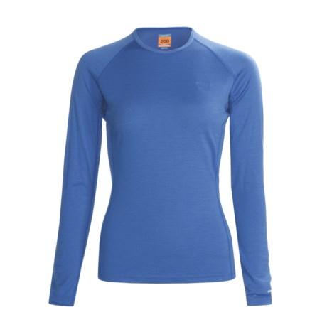 Icebreaker Bodyfit 200 Oasis Base Layer Top - Merino Wool, Long Sleeve (For Women)