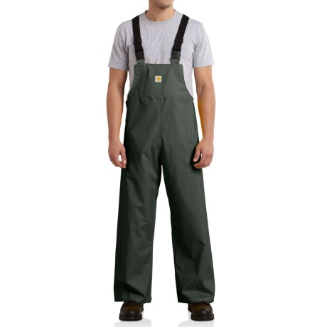 Carhartt Mayne Overalls - Waterproof, Factory Seconds (For Big and Tall Men)