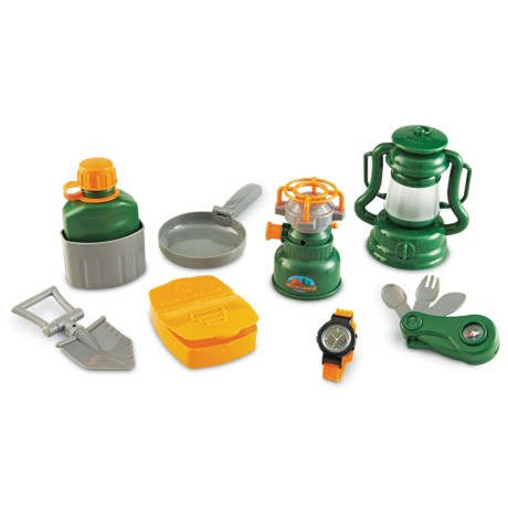 Learning Resources Pretend & Play® Camp Set - 9-Piece