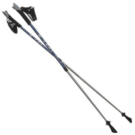 LEKI TP Nordic Walking Poles - Pair, Adjustable