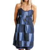 Stetson Patchwork Denim Sun Dress - Sleeveless (For Women)