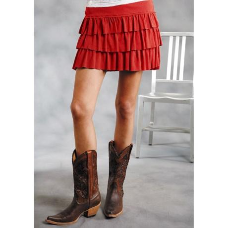 Roper Five Star Mini Skirt (For Women)