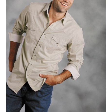 Roper High-Performance Snap Shirt - Yarn Dyed, Long Sleeve (For Men)