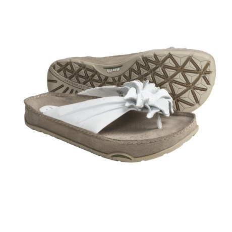 Earth Rose 2 Thong Sandals - Leather (For Women)