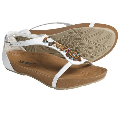 Earth Enchanting Sandals - Leather, T-Strap (For Women)