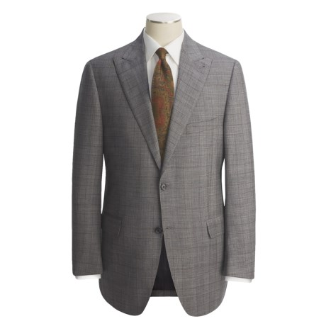 Peter Millar Glen Plaid Suit - Worsted Wool (For Men)