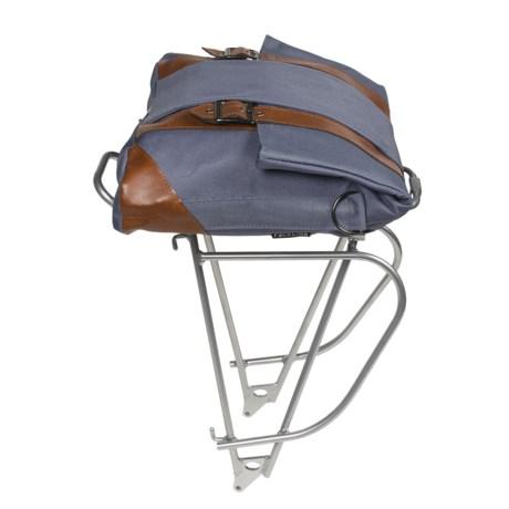 Racktime TourIt Rear Bike Rack with Wall-It Bag