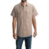 Carhartt Textured Cotton Shirt - UPF 15, Short Sleeve (For Men)