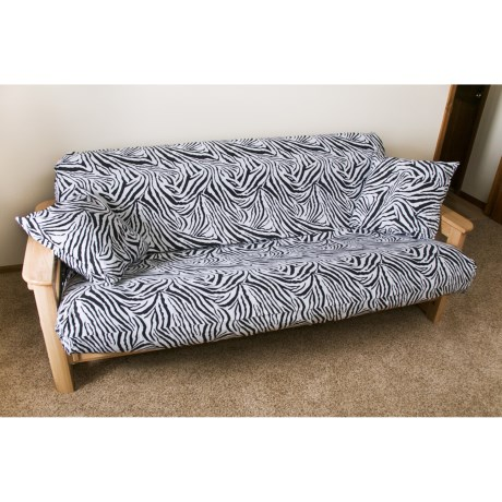 Royal Heritage Home Futon Cover Set - 3-Piece, Full
