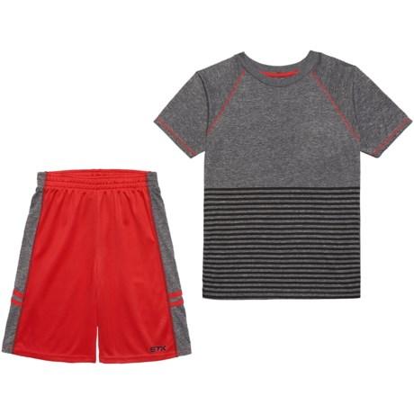 STX T-Shirt and Shorts Set - Short Sleeve (For Big Boys)