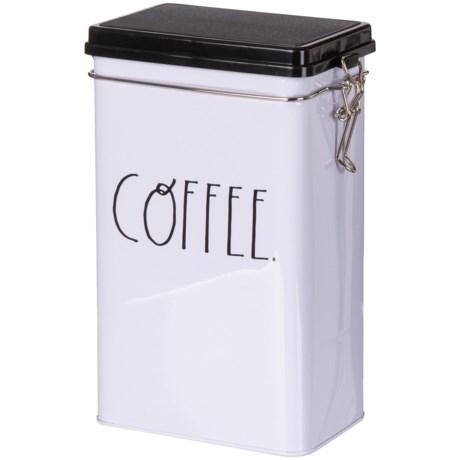 "Home Essentials & Beyond Lidded Coffee Tin - 8.3"""