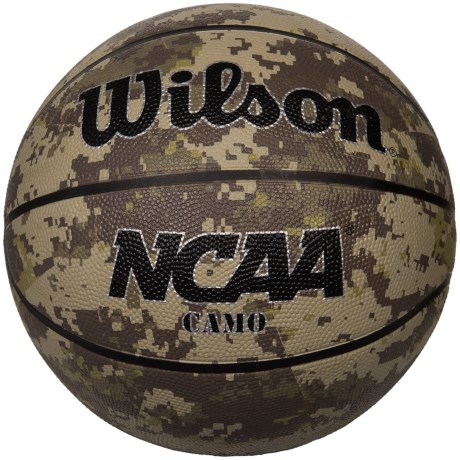 Wilson NCAA Camo Basketball - Official Size