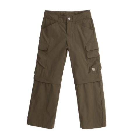 Mountain Hardwear Ravi Zip-Off Pants - UPF 30 (For Boys)