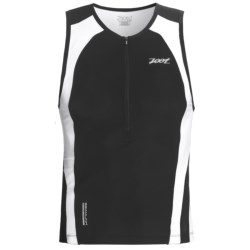 Zoot Sports Ultra Tri Tank Top - UPF 50+, Zip Neck (For Men)