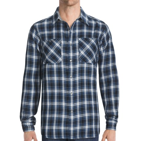 Gramicci Crossriver Plaid Montrose Shirt - Long Sleeve (For Men)
