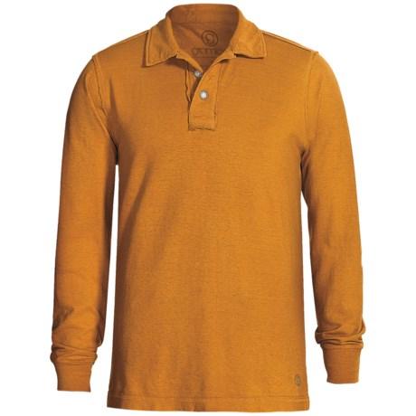 Gramicci Merit Polo Shirt - UPF 20, Hemp-Organic Cotton, Long Sleeve (For Men)