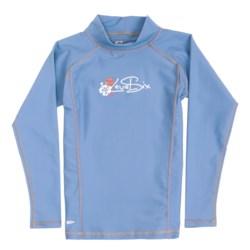 Level Six Stella Rash Guard Shirt - UPF 50+, Long Sleeve (For Girls)